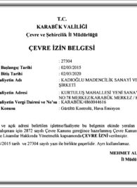 CEVRE-IZIN-BELGESI